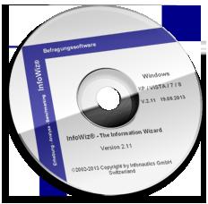 Survey Software InfoWiz for online and paper surveys